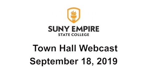 Thumbnail for entry Town Hall meeting 09/18/2019