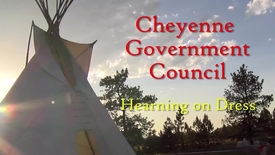 Thumbnail for entry Cheyenne Government Council Hearing On Dress