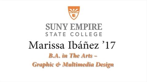 Thumbnail for entry Marissa Ibanez '17