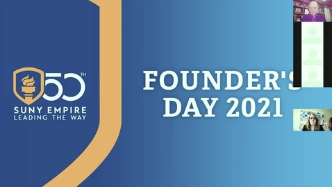 Thumbnail for entry Founders Day Virtual Event - Ernest Boyer Center