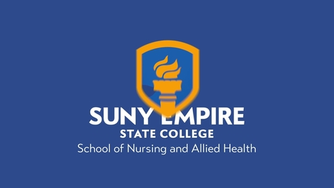Thumbnail for entry SUNY Empire - 2020 Winter Commencement - School of Nursing & Allied Health
