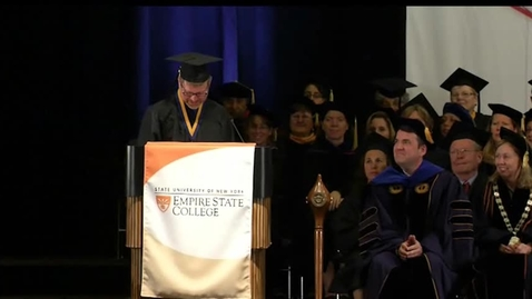 Thumbnail for entry 2013 Commencement Ceremony - Sean Coffman