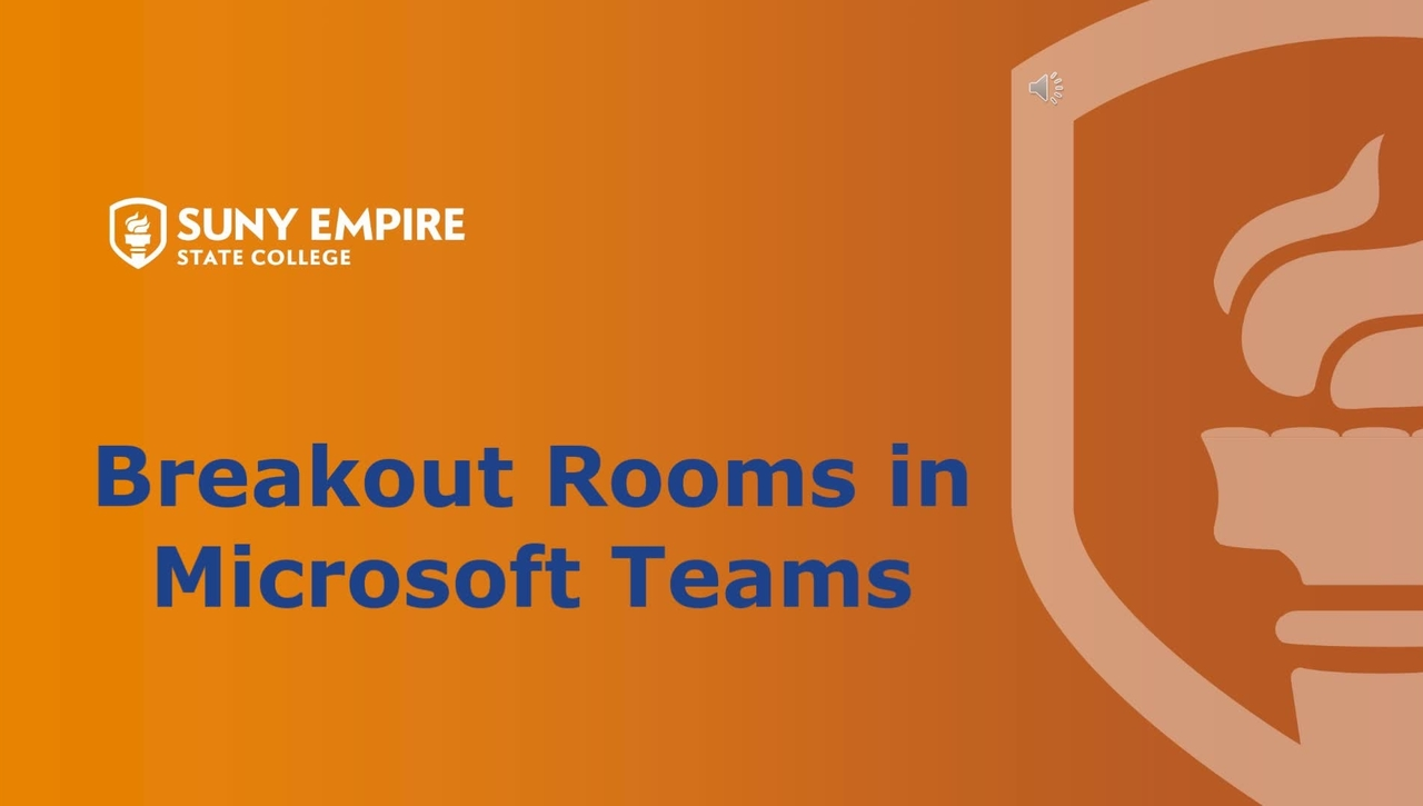 Breakout Rooms in MS Teams