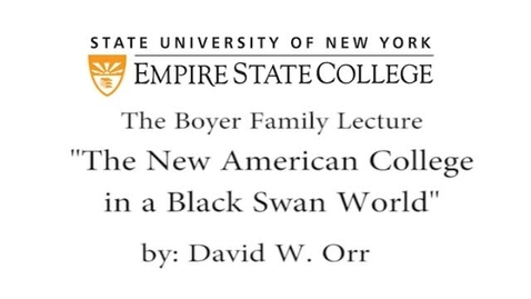 Thumbnail for entry 2013 Boyer Lecture - David Orr
