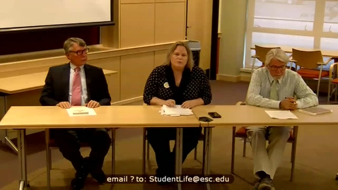 Thumbnail for entry ESC Constitution Day Panel Discussion