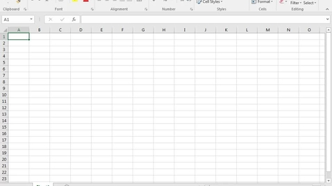 Thumbnail for entry Excel: Basic Skills Part 1: Formatting Cells