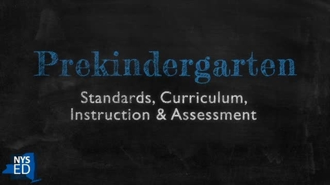 Thumbnail for entry The Prekindergarten Instructional Cycle