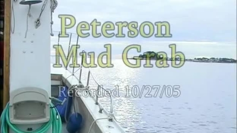 Thumbnail for entry Peterson Mud Grab (Module 3)