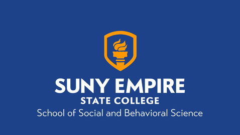 Thumbnail for entry SUNY Empire - 2020 Winter Commencement - School of Social & Behavioral Sciences