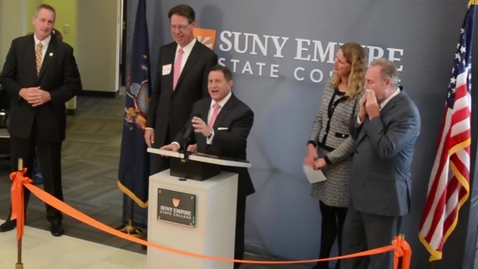 Thumbnail for entry Joseph Morelle at the Rochester Ribbon Cutting