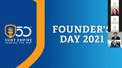 Thumbnail for entry Founders Day Virtual Event - Presidents Panel