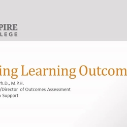 Thumbnail for channel Learning Outcomes