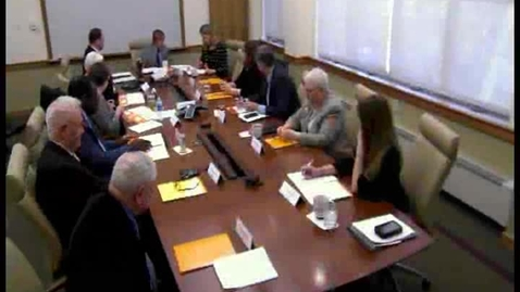 Thumbnail for entry College Council Meeting - March 9, 2016