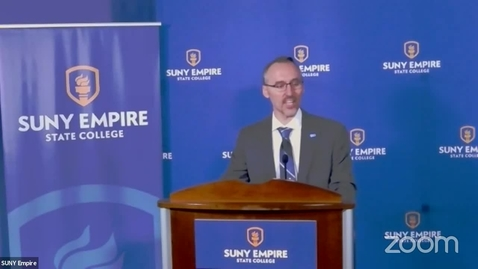 Thumbnail for entry SUNY Empire State College EPP Press Conference