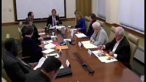 Thumbnail for entry College Council Meeting  - December 5, 2016