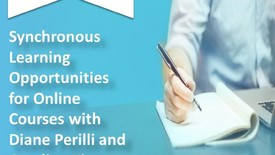 Thumbnail for entry Synchronous Learning Opportunities for Online Courses with Diane Perilli and Carolina Kim