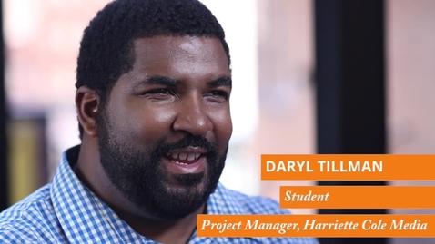 Thumbnail for entry Daryl Tillman Testimonial