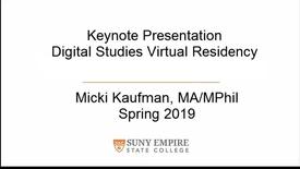 Thumbnail for entry spring 19 virtual residency