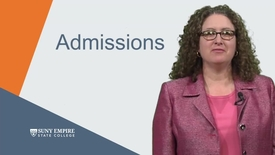Thumbnail for entry Admissions