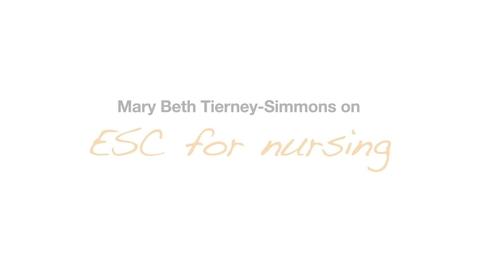Thumbnail for entry MaryBeth Tierney Simmons Nursing Testimonial