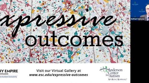Thumbnail for entry Expressive Outcomes SUNY ESC Gallery Opening