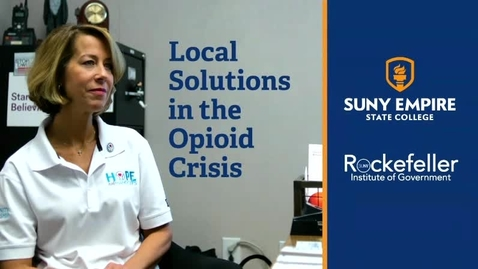 Thumbnail for entry Local Solutions in the Opioid Crisis