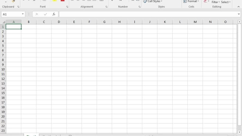 Thumbnail for entry Excel: Working with Functions Part 2: Using Ranges of Cells