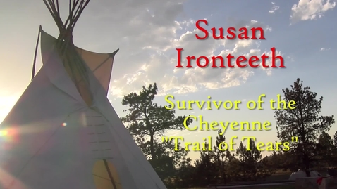 Thumbnail for entry Susan Ironteeth - Cliff Eaglefeather