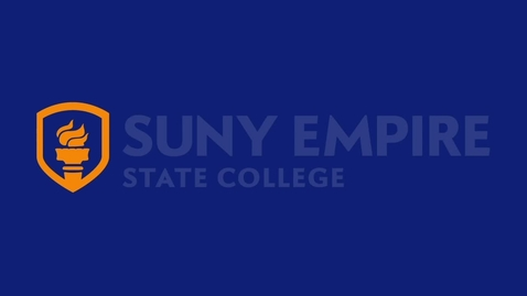 Thumbnail for entry Empire_State_College_Welcome_Video_(HD_720)_Rev