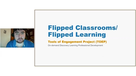 Thumbnail for entry Flipped Learning Webinar - 02/02/2017