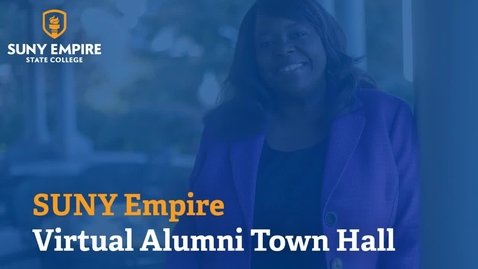 Thumbnail for entry Alumni Town Hall