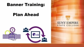 Thumbnail for entry Banner Training: Plan Ahead - Quiz