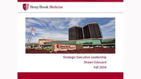 Thumbnail for entry Shawn Edouard MBA Presentation