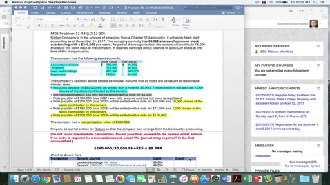 Thumbnail for entry 214014 Advanced Accounting - M05 PROBLEM DEMO 13-42