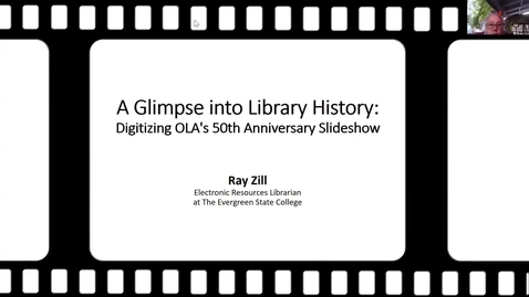 Thumbnail for entry A Glimpse into Library History: Digitizing OLA's 50th Anniversary Slideshow