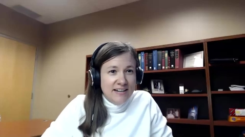 Thumbnail for entry Elizabeth Hoffman Webinar - Getting Started with 1000 Books Before Kindergarten - 01/22/2020
