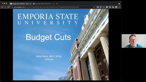 Thumbnail for entry How to Deal with Budget Cuts - Keith Rocci