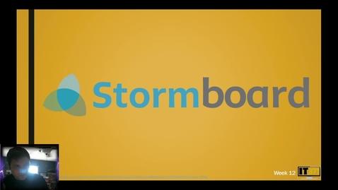 Thumbnail for entry Stormboard Walkthrough