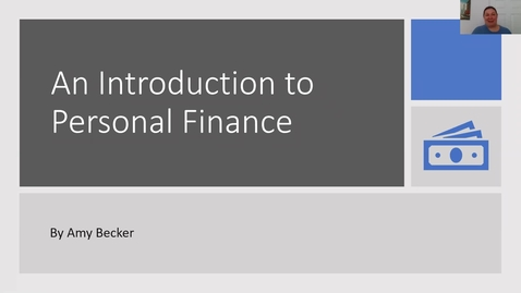 Thumbnail for entry An Introduction to Personal Finance