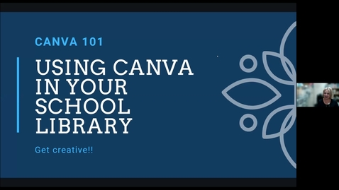 Thumbnail for entry Promote Your School Library Using Canva - Easy and FREE