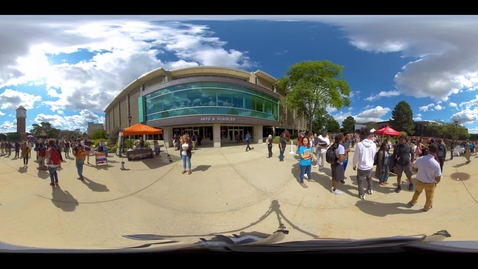 Thumbnail for entry Party with the Prez: A quick 360-degree look