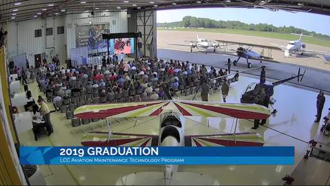 2019 LCC aviation graduation