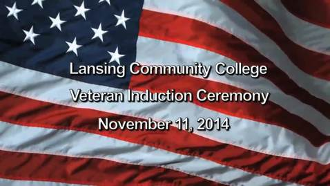 Thumbnail for entry 2014 Veterans Memorial Ceremony