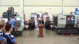 Thumbnail for entry Manufacturing Day Press Conference 2016