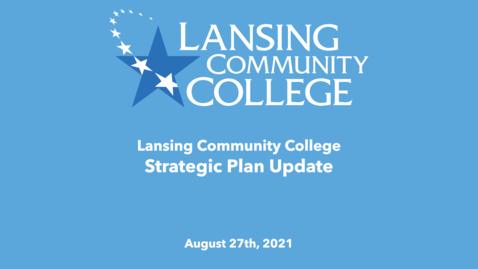 Thumbnail for entry Strategic Plan Update