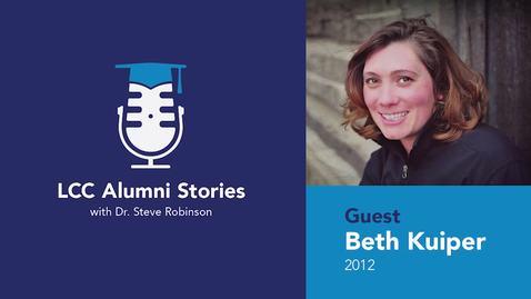 Thumbnail for entry LCC Alumni Stories – Beth Kuiper