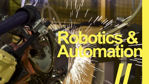 Thumbnail for entry Robotics & Automation   //   Lansing Community College