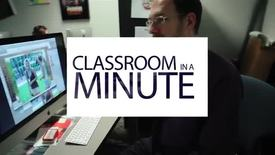 Thumbnail for entry Classroom in a Minute PHOTO 112