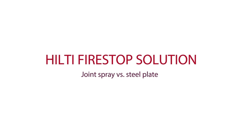 CFS SP WB Firestop sealants and sprays Hilti Denmark