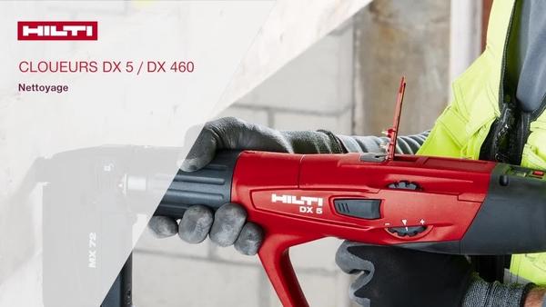 DX 5, DX 460 - Nettoyage.